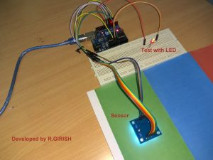 Relay Trigger by Color Detection Using Arduino