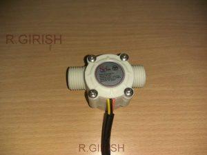 Simple Digital Water Flow Meter Using Arduino