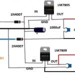 Arduino incubator power supply circuit