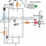 Patient Drip Empty Warning Indicator Circuit
