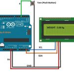 Weighing Scale Circuit Using Load Cell and Arduino