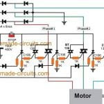 electronic solid state contactor circuit