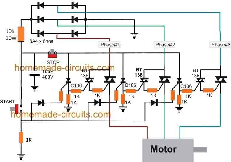Solid State Contactor Circuit for Motor Pumps