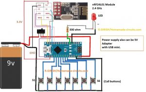 Wireless Office Calling Bell Using Arduino