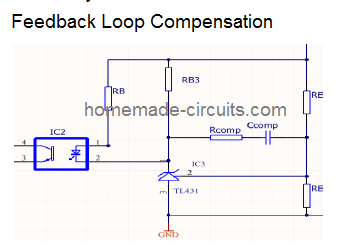 Configuring the Flyback Feedback Loop