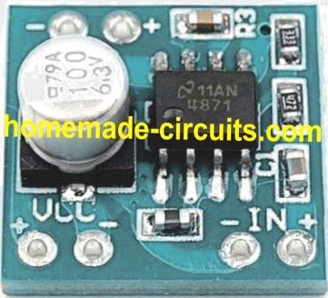 LM4871 module USB amplifier