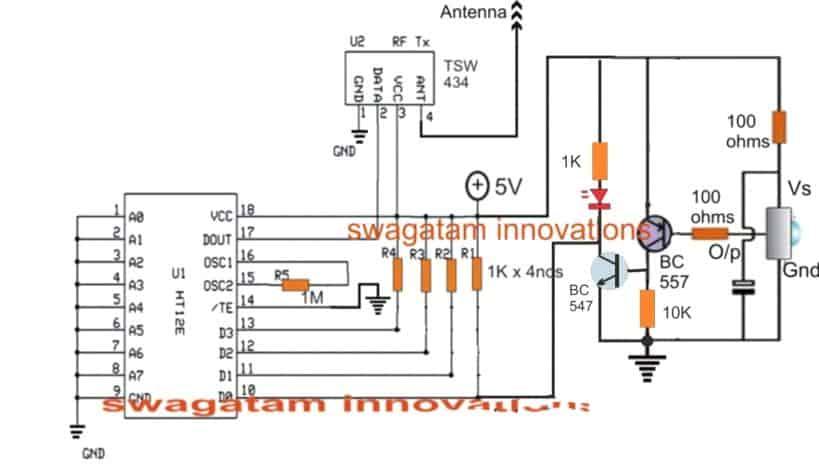 Make this IR Remote Control Range Extender Circuit