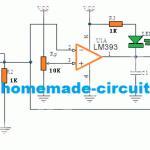 MQ-3 sensor LM393 comparator circuit