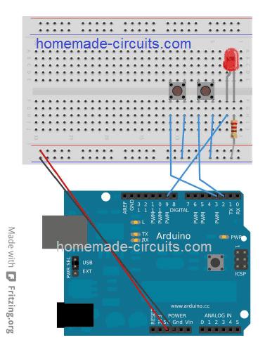 Arduino PWM control