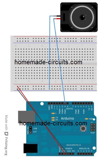Using Sound effect in Arduino