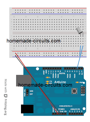 intefacing tilt sensor with Arduino