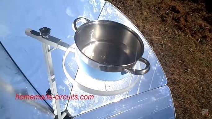 homemade solar cooker