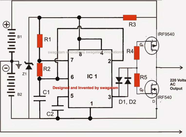 solar transformerless inverter circuit