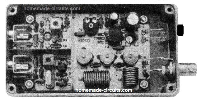 27 MHz Transmitter Circuit – 10 Km Range