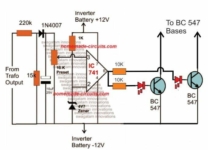 Arduino Pure Sine Wave Inverter Circuit with Full Program