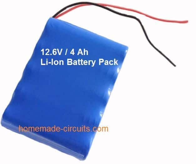Li-ion battery for drone