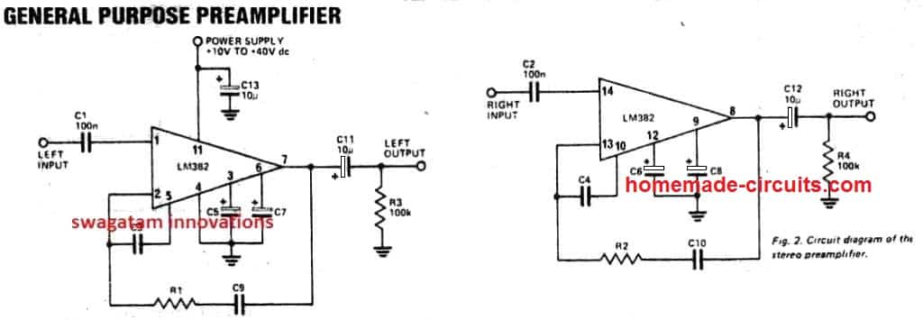 5 Simple Preamplifier Circuits Explained | Homemade Circuit