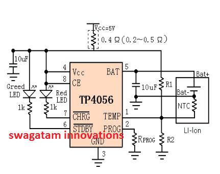 IC TP4056 circuit