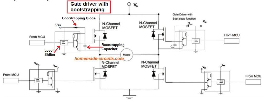 P Channel Mosfet In H Bridge Applications Homemade