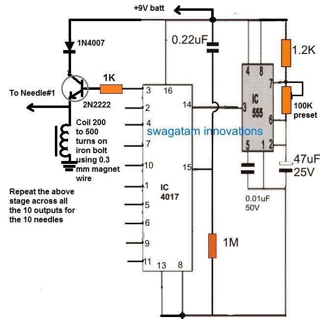 Transcutaneous Nerve Stimulator    Circuit      Homemade    Circuit    Projects
