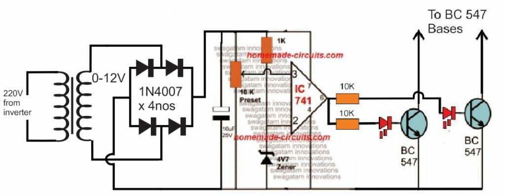 Arduino Pure Sine Wave Inverter Circuit with Full Program Code