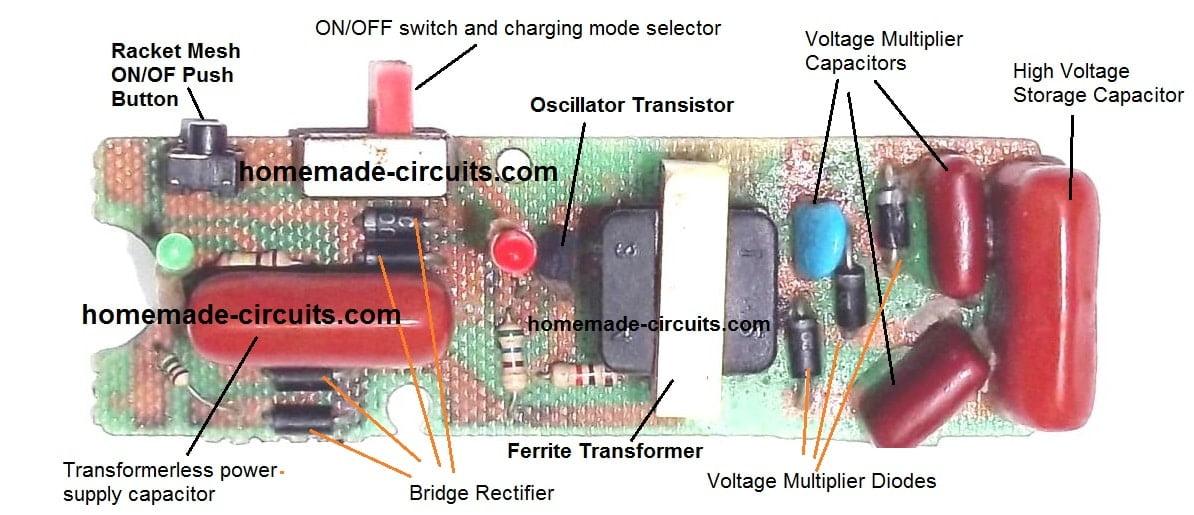 High Voltage Mosquito Killer Circuit Diagram - Pest ...
