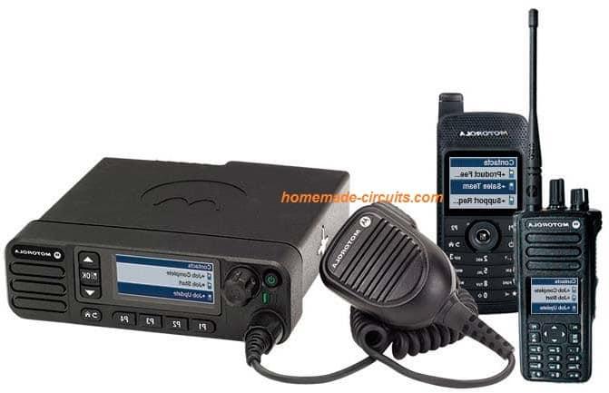 walkie talkie using FM radio
