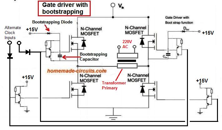 Arduino Full-Bridge (H-Bridge) Inverter Circuit | Homemade Circuit
