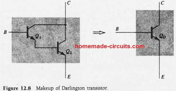 Darlington Transistor Calculations | Homemade Circuit Projects