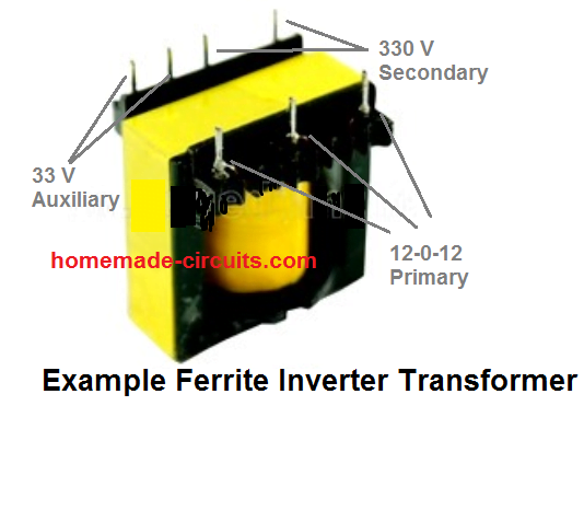 Calculate ferrite transformers for inverters and SMPS