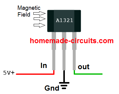 Linear Hall-Effect Sensor - Working and Application Circuit ... on
