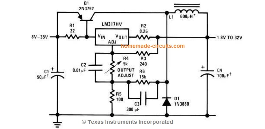 LM317 Variable Switch Mode Power Supply (SMPS) | Homemade