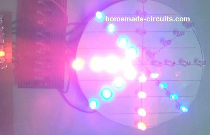 ornamental LED wheek chakra
