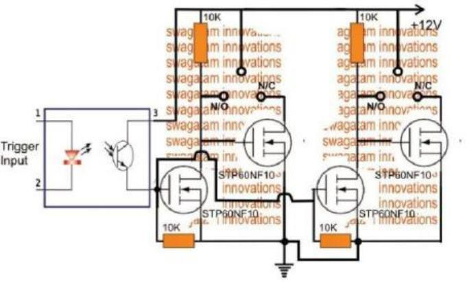 Dc Relay Schematic Diagram on