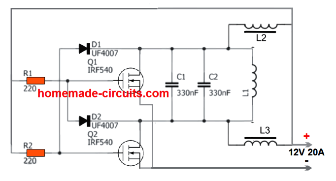 [DIAGRAM_3ER]  2 Simple Induction Heater Circuits - Hot Plate Cookers | Homemade Circuit  Projects | Induction Coil Wiring Diagram |  | Homemade Circuit Projects