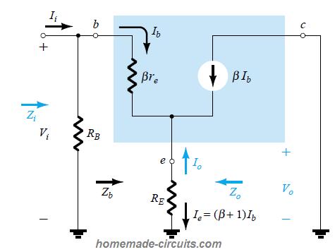 BJT Emitter-Follower - Working, Application Circuits