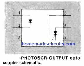photoSCR output optocoupler