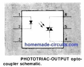 photoTriac output optocoupler