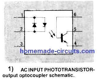 AC input optocoupler