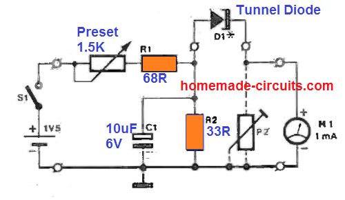 how to test tunnel diodes