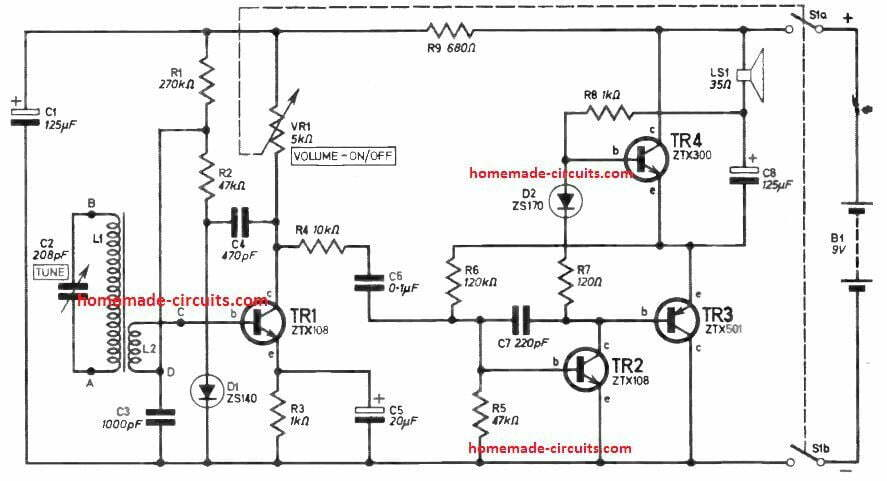 simplest am radio circuit