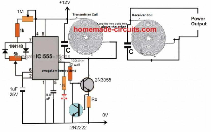 high current wireless charger receiver circuit
