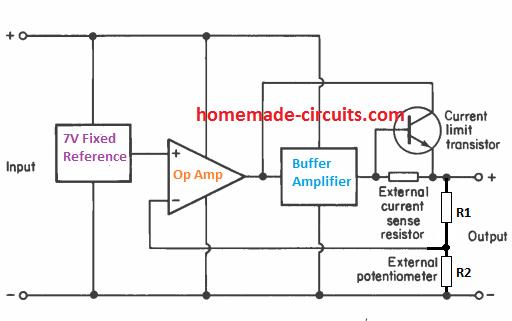 IC 723 internal layout