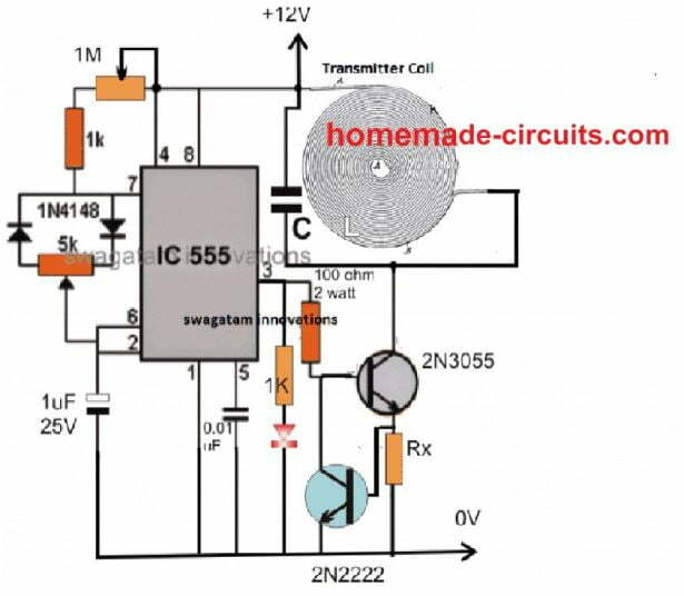 high current wireless charger transmitter circuit