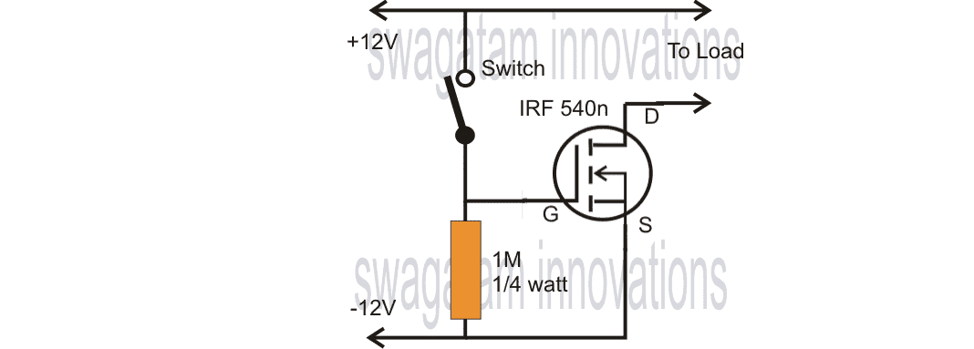 homemade volt solenoid wiring diagram single mosfet timer circuit homemade circuit projects  single mosfet timer circuit homemade