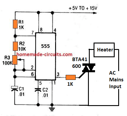 heater timer circuit