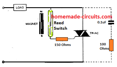 Reed Switch - Working, Application Circuits | Homemade Circuit Projects | Reed 4 Pin Relay Wiring Diagram |  | Homemade Circuit Projects