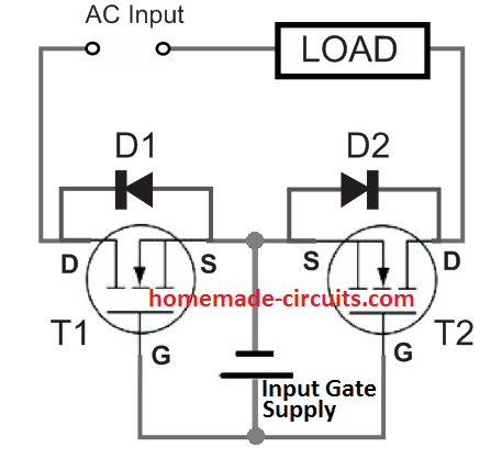 basic solid state relay SSR design concept