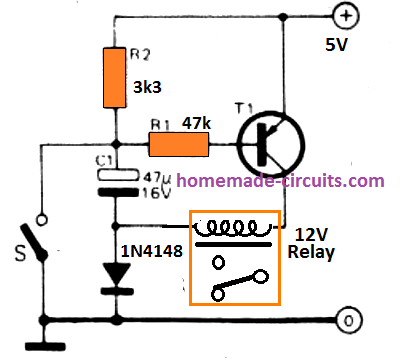 operating high voltage relay with low supply
