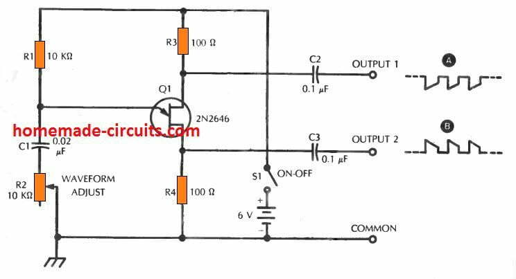 10 Simple Unijunction Transistor  Ujt  Circuits Explained